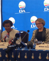 Mamphele Ramphele and Helen Zille