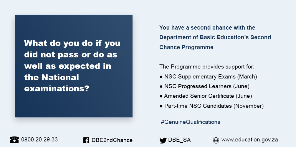 DBE Second Chance