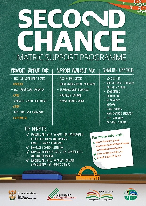 Failed Matric Need A Second Chance Careers Portal