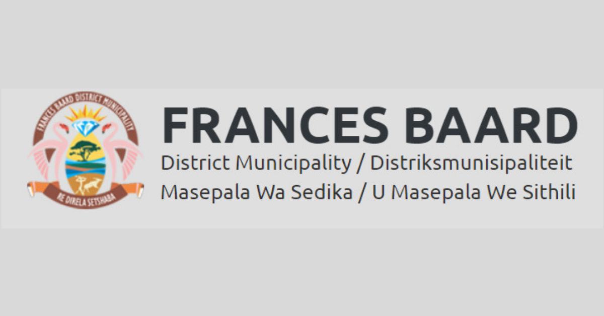 youth programme at frances baard district municipality