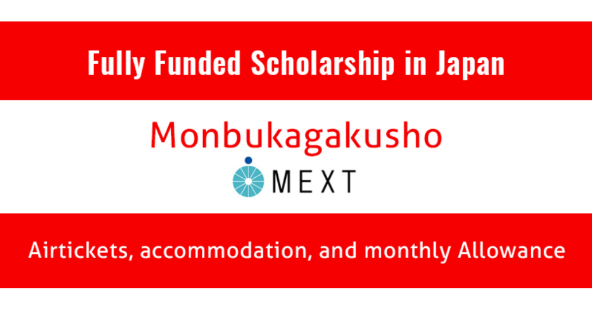 MEXT Japan Scholarship 2020 | Careers Portal