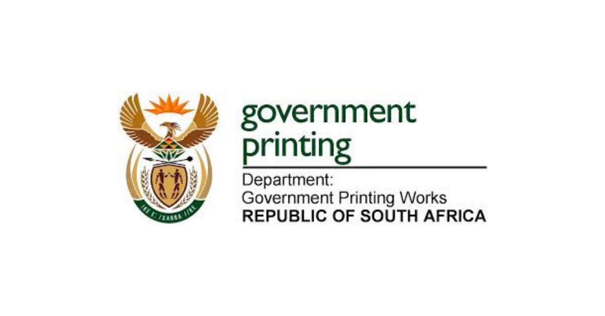 Government Printing Works Regional Graduate Internship