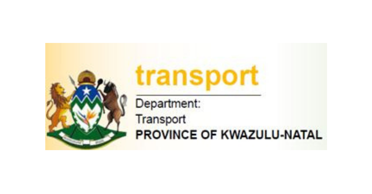 Image result for KZN Dept of Transport Apprenticeship Programme 2019