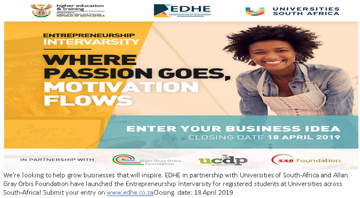 Entrepreneurship Intervarsity - Enter Your Business Idea