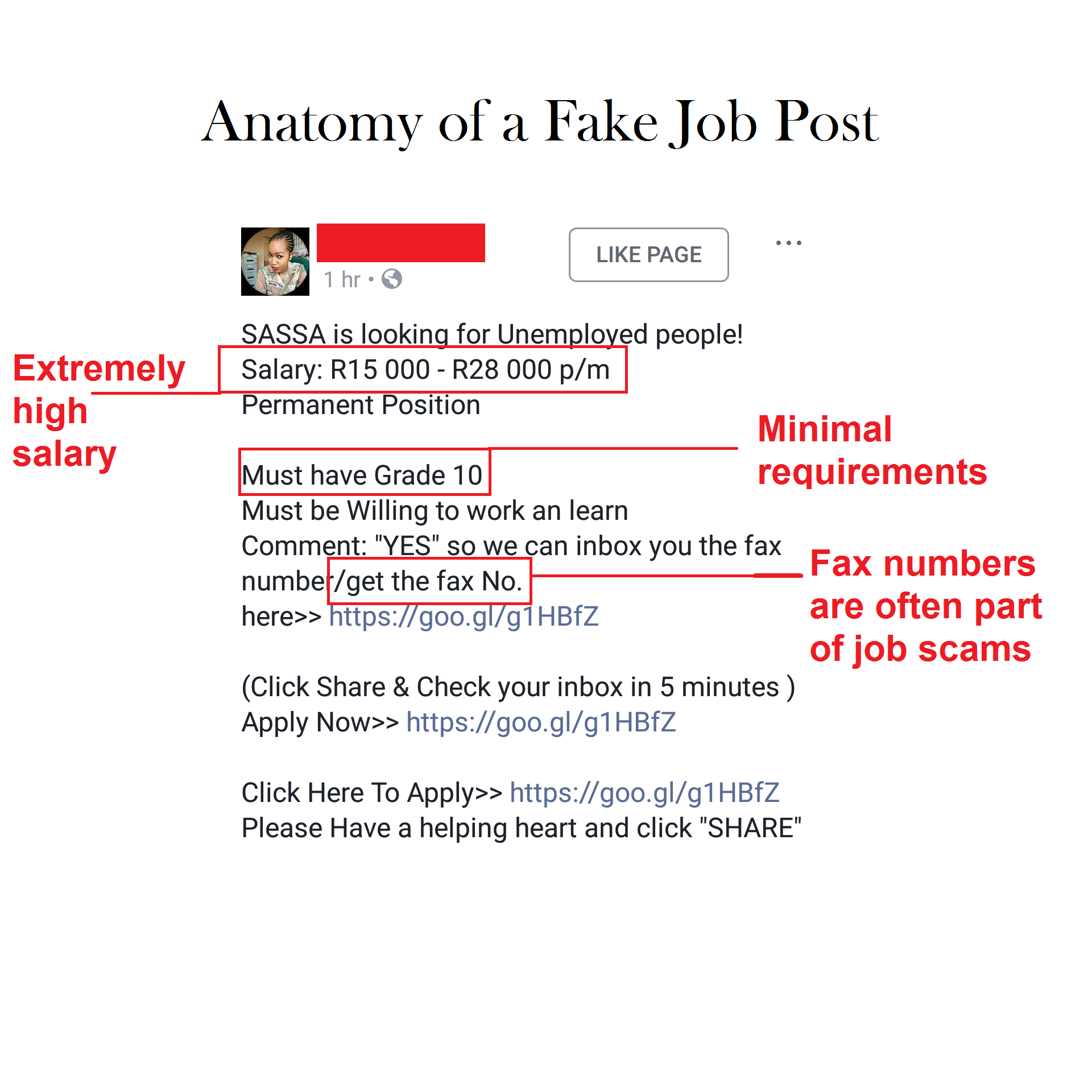 How to Spot a Fake Job Post