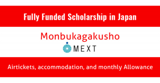 MEXT Japan Scholarship