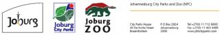 Johannesburg City Parks and Zoo Logo
