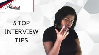 5 Top Interview Tips