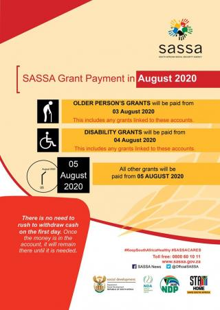 SASSA Disability Grant