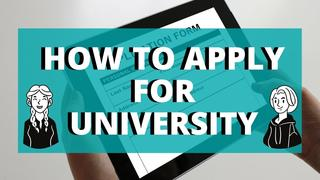 when should you start applying for universities