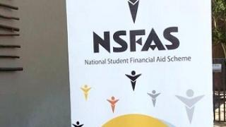 NSFAS Advertisement board