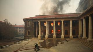 UCT Prof Says Fire Exposed Failings of UCT Management