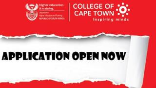 College of Cape Town Trimester Applications Are Open