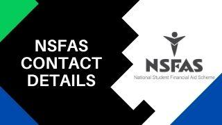 How Can I Contact NSFAS?