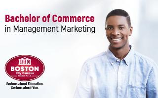 Boston - Bachelor of Commerce in Marketing Management