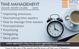 Online Short Course - Time Management