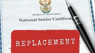Replace Matric Certificate