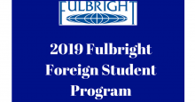Fulbright US EMbassy Foreign Student