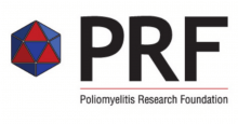 Poliomyelitis Research Foundation (PRF) Logo