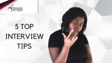 5 Top Interview Tips